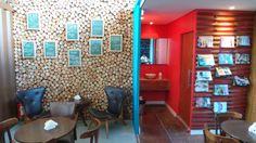 Café Container, Campinas Café Container, Conference Room, Divider, Table, Furniture, Home Decor, Campinas, Lawn, Decoration Home