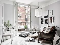8 Chic Stylish Apartment Interior With Full Comfort Apartment Decorating If you want to make your home look more exciting, then one of the best ways is to decorate it with exquisite home decor and items. Decor, White Home Decor, Home Decor Styles, Home Remodeling, Interior, House Interior, Room Interior, Apartment Decor, Apartment Interior