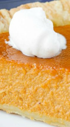 Pumpkin Pie with a Twist