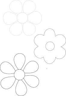 Blumen Basteln Papier Vorlagen | Bouwunique