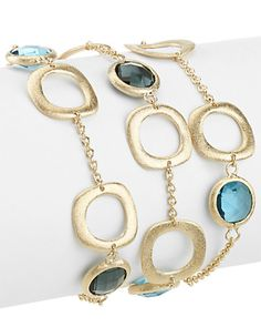 Some of you have to get in on this: Rivka Friedman 18K Clad Crystal Bracelet