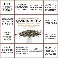 Tips for Anti Diet Solution - Les Bienfaits de la Graine de Chia Proper Nutrition, Sports Nutrition, Nutrition Tips, Healthy Nutrition, Healthy Tips, Nutrition Classes, Nutrition Activities, Paleo Diet, Healthy Foods