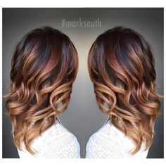 "M a r k S o u t h on Instagram: ""Warm blonde Balayage Ombre """