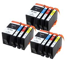 12 Chipped INK CARTRIDGES FOR HP Officejet 6000 6500 6500A 7000 7500A  HP920XL Printer