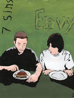 7 Deadly Sins- Envy by ~We-all-sin All Sins, Seven Deadly Sins, Jealousy, Social Community, User Profile, Envy, Deviantart, Artwork, Artist