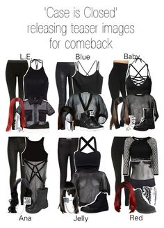 'Case is Closed' releasing teaser images for comeback by caseisclosed on Polyvore featuring polyvore fashion style Givenchy Nina Ricci The Row Topshop Morgan Lane Converse MICHAEL Michael Kors Arizona Timberland Steve Madden River Island Bling Jewelry Journee Collection BaubleBar clothing