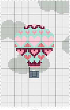 Stitch Fiddle is an online crochet, knitting and cross stitch pattern maker. Tiny Cross Stitch, Cross Stitch Heart, Simple Cross Stitch, Cross Stitch Pattern Maker, Modern Cross Stitch Patterns, Cross Stitch Designs, Diy Embroidery, Cross Stitch Embroidery, Embroidery Patterns