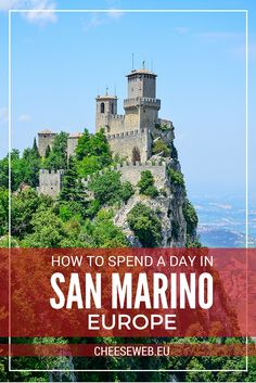 How to spend a day in San Marino Europe's Micro Country - Adi takes us on a family-friendly day trip to the tiny nation of San Marino, surrounded by northern Italy. Europe Travel Tips, European Travel, Us Travel, Travel Guides, Family Travel, Travel Destinations, Slow Travel, Italy Vacation, Italy Travel