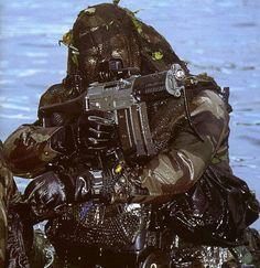 Navy SEAL Combat Swimmer