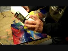 How to varnish an Acrylic Painting the easy way!