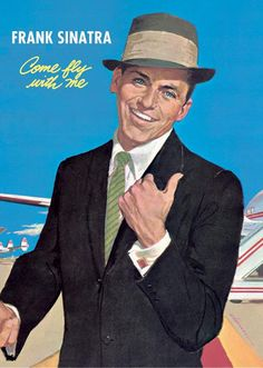 Frank Sinatra Come Fly With Me Album Cover Art  22 x 34  Poster