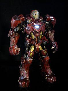 Iron Man Stark tech assault armor