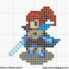 Fire Emblem Awakening ANNA Cross Stitch Pattern by bobcrochets