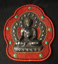 Buddha. Beautiful Beading!