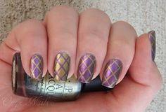 Rapunzel Nails Tutorial