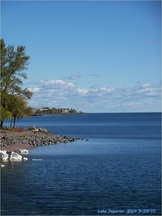 Lake Superior, Duluth, MN. Love that blue!