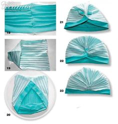 how to sew a turban Sewing Hacks, Sewing Tutorials, Sewing Projects, Sewing Patterns, Baby Turban, Turban Headbands, Turban Headband Tutorial, Turban Hijab, Hat Tutorial