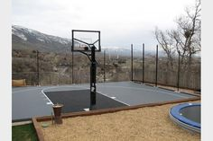 Can I Build A Basketball Court In My Backyard
