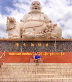 Happy #Buddhas in #Saigon ! Day tripping on the #MekongDelta