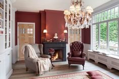 Classic Interior, English Style, Country, Fireplaces, Home Decor, Fireplace Set, Vintage Interiors, Fire Places, Decoration Home