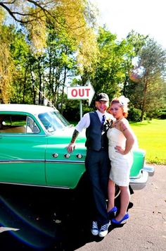 Robs outfit with a red tie. Rockabilly Looks, Rockabilly Wedding, Plan My Wedding, Dream Wedding, Wedding Stuff, Wedding Ideas, Wedding Wishes, Wedding Bells, Canoe Club