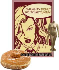 """""""Naughty Donut Go To My Room"""" by rawrat ❤ liked on Polyvore"""