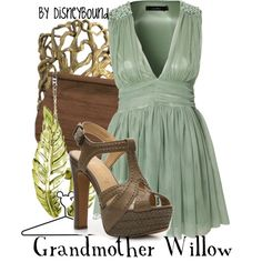 """""""Grandmother Willow"""" by lalakay on Polyvore #disney"""