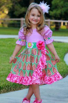 Holiday Sugarplum Dress sz 12mo  7yrs by outtahand on Etsy, $28.00
