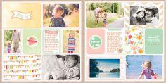 Dear Lizzy Neapolitan 3x4 Filler Cards – digitalprojectlife
