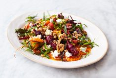 Jamie Oliver's Amazing Dressed Beets Jamie Oliver 5 Ingredients, Turkish Recipes, Ethnic Recipes, Romanian Recipes, Scottish Recipes, Healthy Foods To Eat, Healthy Recipes, Healthy Dinners, Green Pesto