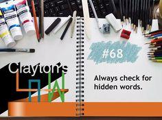 We hope you enjoy this week's Clayton's Law! #balancelogic #claytonslaw