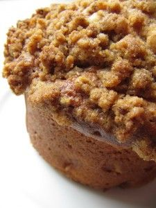 Apple Coffee Cake Muffin Recipe from bakedbyrachel.com