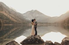 Boho Couple Shoot in the Mountains