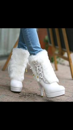 High Quality White Stiletto Heels Boots is part of Shoes - Buy High Quality White Stiletto Heels Boots From Shoespie com You will find many fashionable products from Thigh High Boots collections Hot Shoes, Crazy Shoes, Shoes Heels, High Heel Boots, Heeled Boots, Bootie Boots, Boot Heels, Flat Boots, Ankle Boots