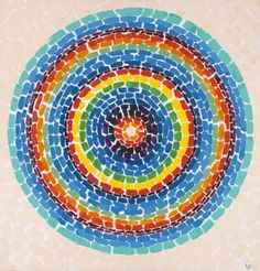 Alma Thomas, Wind Dancing with Spring Flowers  (1969) The African-American color field painter is under-recognized today, even compared to the renown she found in her own time: This vibrant, rainbow-hued bullseye was actually featured on the cover of the exhibition catalogue for her 1972 Whitney Museum of American Art retrospective.