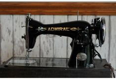 Admiral Electric Sewing Machine