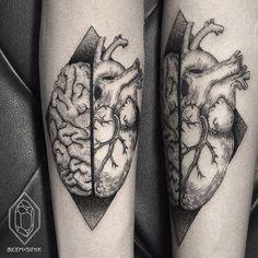 Brain or heart? By Bicem Sinik.