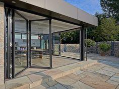 sliding glass doors that slide into the wall google. Black Bedroom Furniture Sets. Home Design Ideas