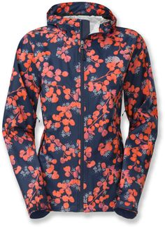 Face the gray rainy days with a splash of color! The North Face Ederra Rain Jacket - Women's. North Face Women, The North Face, Rain Jacket Women, Cold Weather Outfits, Vest Jacket, Raincoat, Jackets For Women, Cute Outfits, Shirt Dress