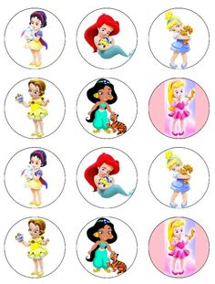 Chibi Tiana | chibi princess pajama dress disney princess tiana focusing on your