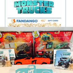 In case you missed the commercials, a new movie from Paramount Pictures' just opened in theaters nationwide called Monster Trucks.