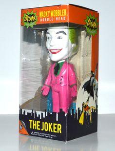 DC Comics Wacky Wobbler Bobble Head Batman The Joker Figure