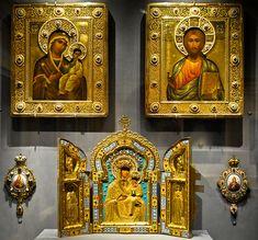 Russian Czar Icons at the Virginia Museum of Fine Arts (VMFA) Richmond VA