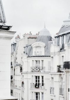 White Parisian Architecture,