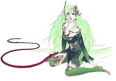 Rydia - Final Fantasy IV: The After Years | Akira Oguro