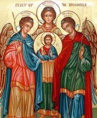 Oração aos três Arcanjos (Círculo de luz e proteção) Visite nosso blog > Reflexões para todos