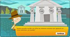 Blog de los niños: Números romanos para niños de Educación Primaria. Juego de Libros Vivos
