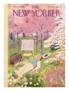 The New Yorker Cover - May 21, 1949 Poster Print by Garrett Price at the Condé Nast Collection