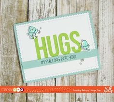 Happy Tuesday everyone… It's Holly here today and I have a new video and a Super Cute card featuring Your Next Stamp & My Favorite Things! I started out with a piece of Neenah Solar White card stock and I die cut a panel using the Blueprints 27 die-namics from MFT. Then I die cut …