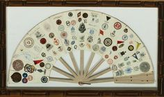 """16 Panel Fan w/ (163) Letterhead Emblems"""